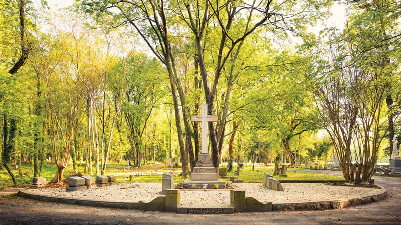 Evergreen Cemetery gets a renewal grant Image