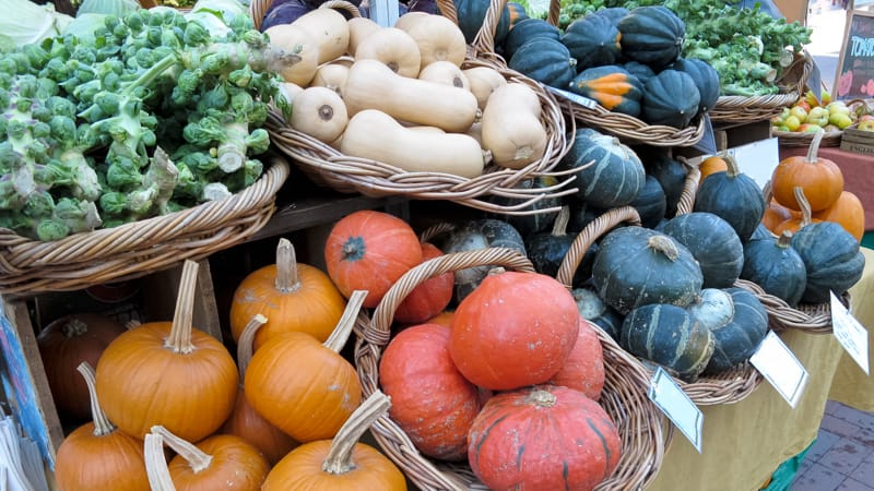 Fall Farmers Market Image