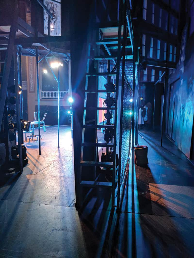 "Behind the scenes at ""West Side Story"" 
