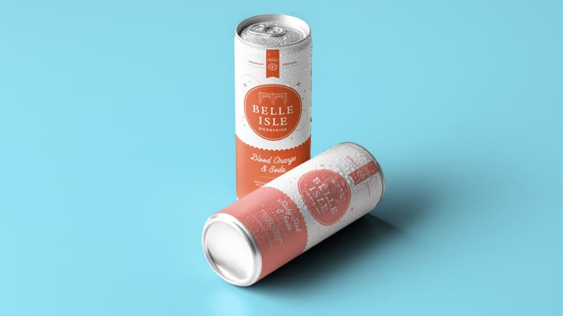 Belle_Isle MoonShine Distillery canned cocktails Image