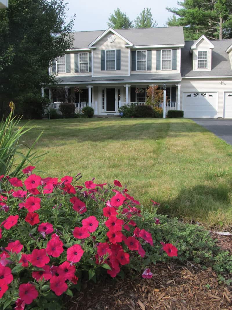 Evans' former home