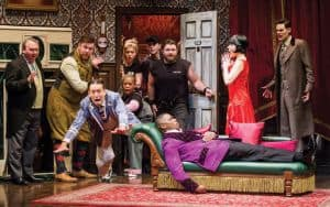 The Play That Goes Wrong national tour, coming to Altria Theater Oct. 22-27 | Photograph by Jeremy Daniel, courtesy of Broadway in Richmond Image