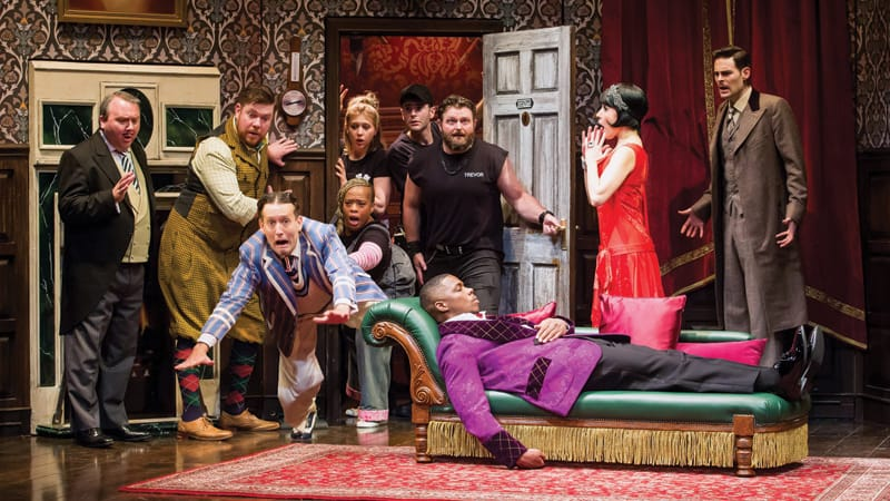 The Play That Goes Wrong national tour, coming to Altria Theater Oct. 22-27 | Photograph by Jeremy Daniel, courtesy of Broadway in Richmond