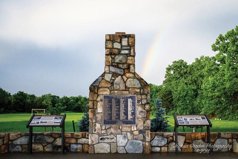 Blue Ridge Heritage Project Rockingham Monument   Photograph by Joshua Gooden Photography
