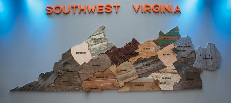 Photograph courtesy of Southwest Virginia Cultural Center & Marketplace