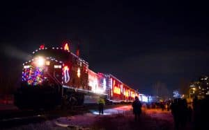 Ashland Street Party Light Up the Tracks to get you in the Christmas spirit Image