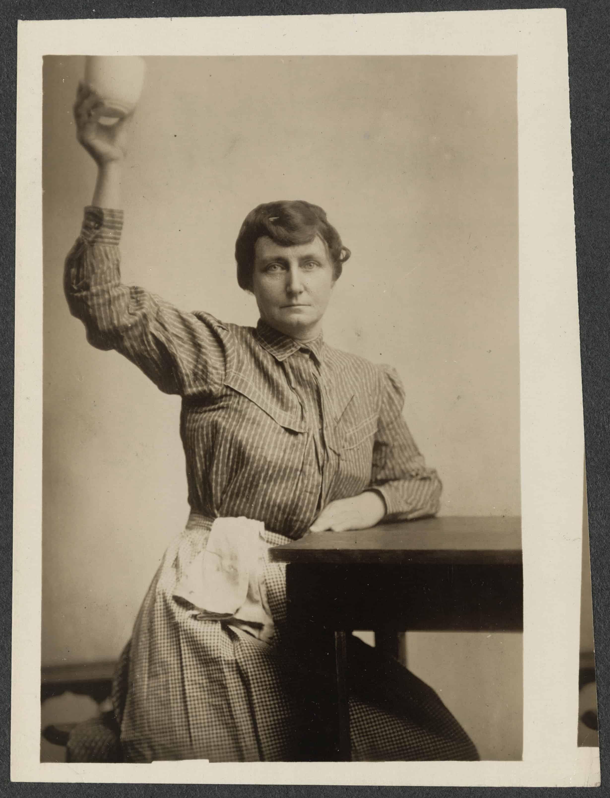 Suffragist Pauline Adams