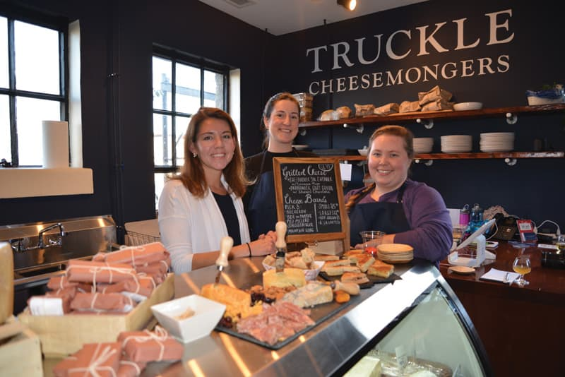 Truckle Cheesemongers at Blue Bee Cider