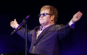 Elton John Looking regal Image