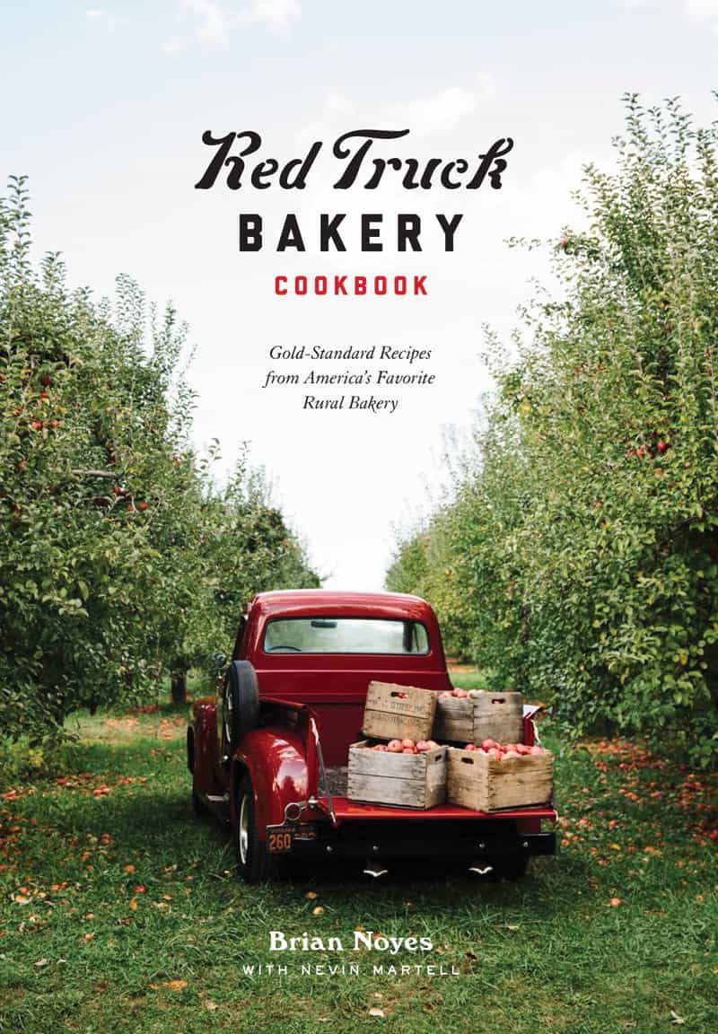 Red Truck Bakery Cookbook cover By Brian Noyes