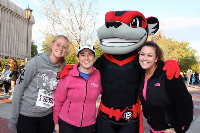 Christine Martine and Nutzy at the Monument Avenue 10k