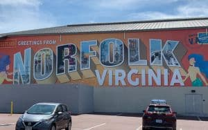 Norfolk Virginia sign reading