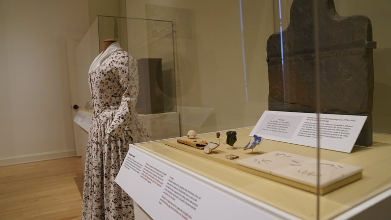 Sally Hemings Paradox exhibition dress