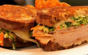 Parterre sandwich from the new restaurant in Richmond, VA Image