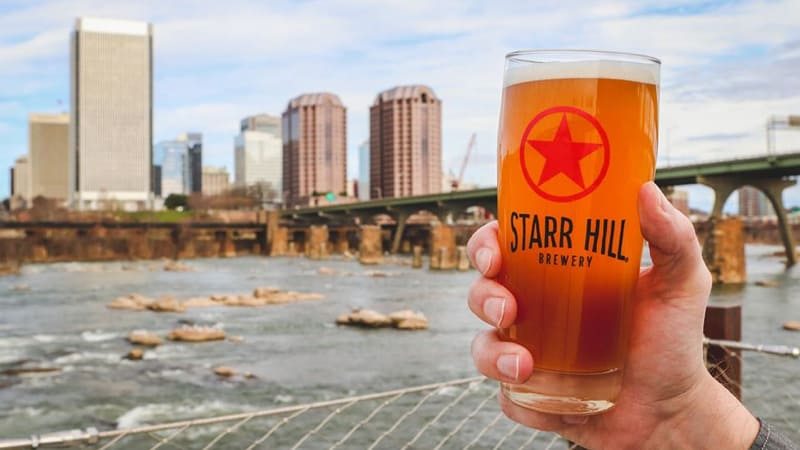 Starr Hill Richmond Beer Hall and Rooftop