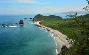 Ecuador beach is Paradise Image