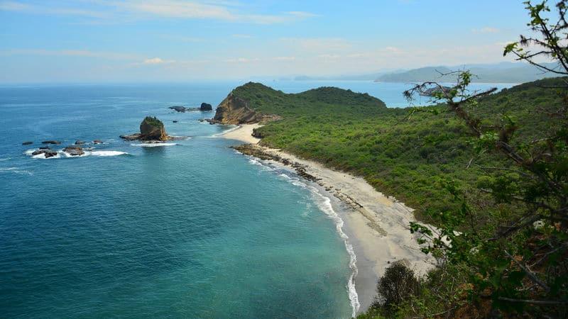 Ecuador beach is Paradise Image