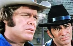 James Drury and Doug McClure of
