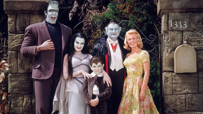 The Munsters and Pat Priest