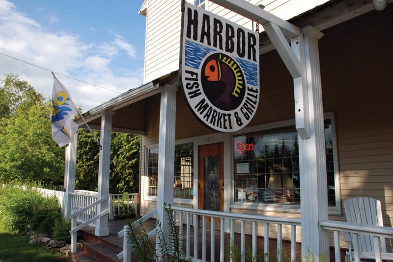 Harbor Fish Market & Grille in Door County, Wisconsin