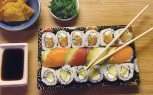 Sushi from Kirin Cafe of Richmond restaurants Image
