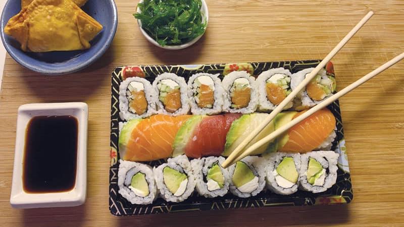 Sushi from Kirin Cafe of Richmond restaurants Image