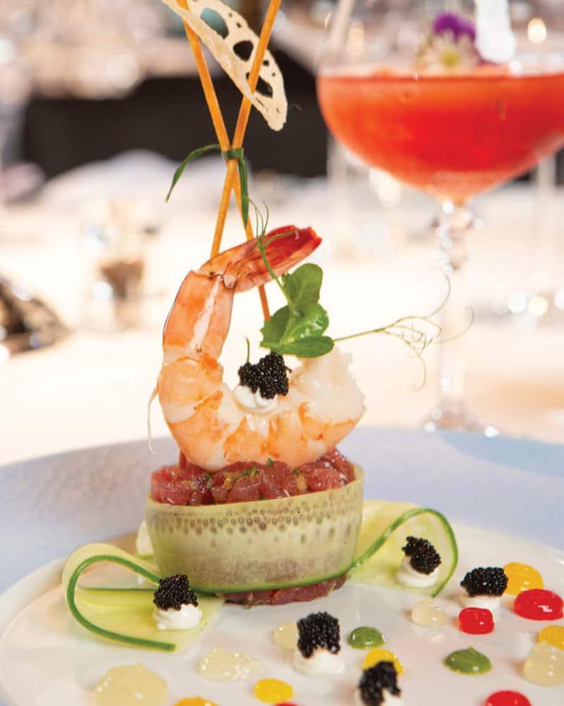 Delicious shrimp on Florida's Paradise Coast