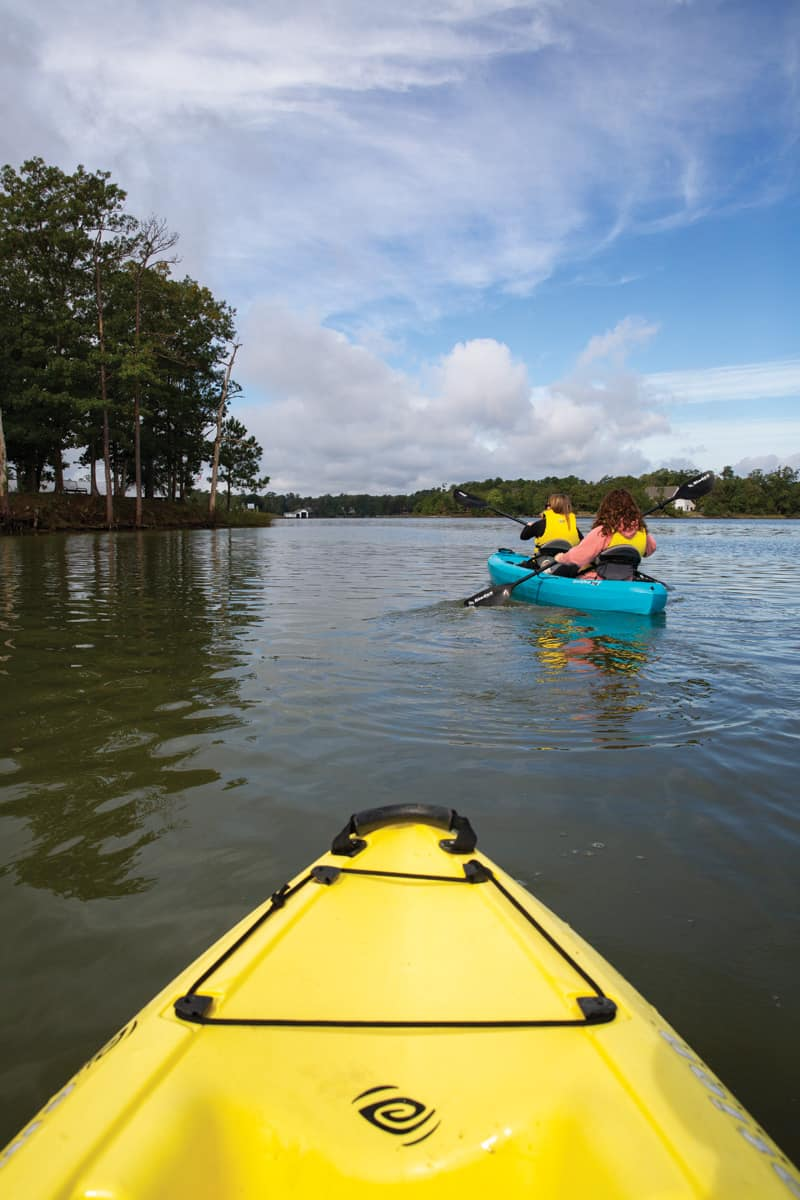 Kayaking on the Middle Peninsula