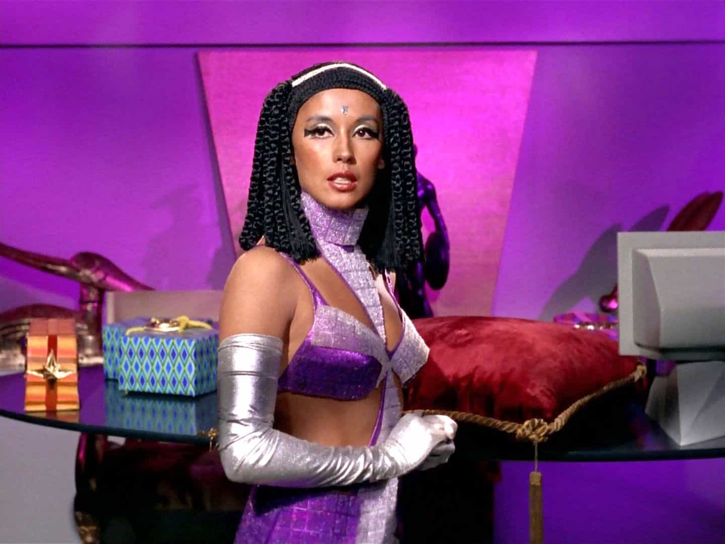 France Nuyen in the 1968 Star Trek episode, Elaan of Troyius - NBC