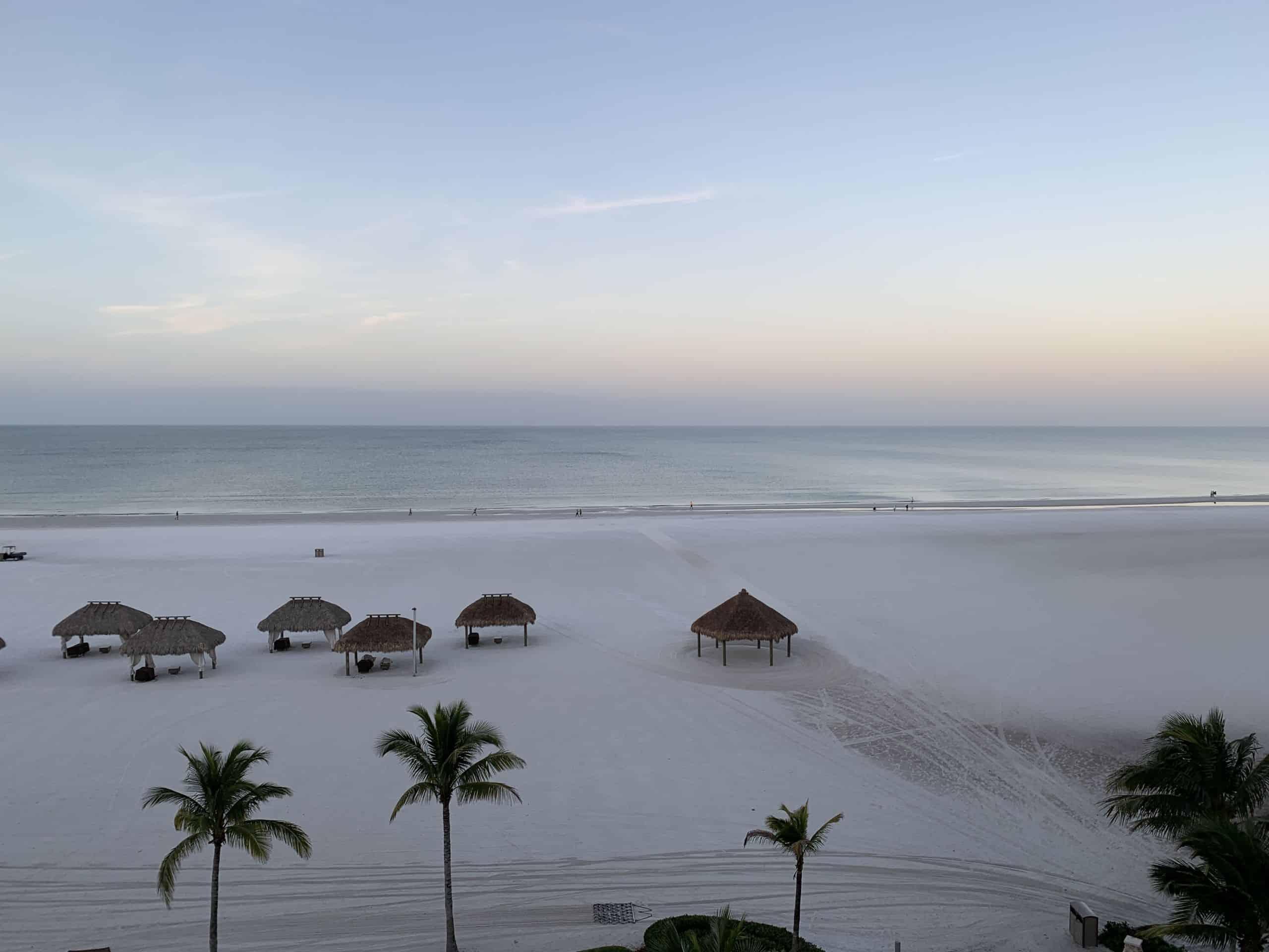 The beach on Florida's Paradise Coast