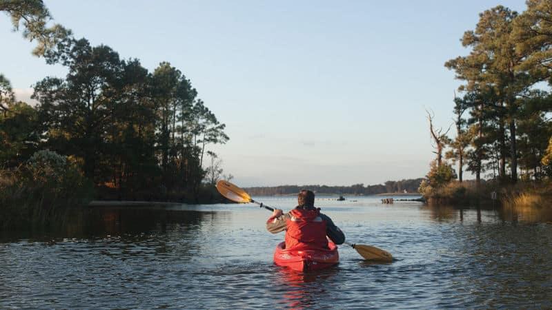 Kayaking on the Middle Peninsula Image