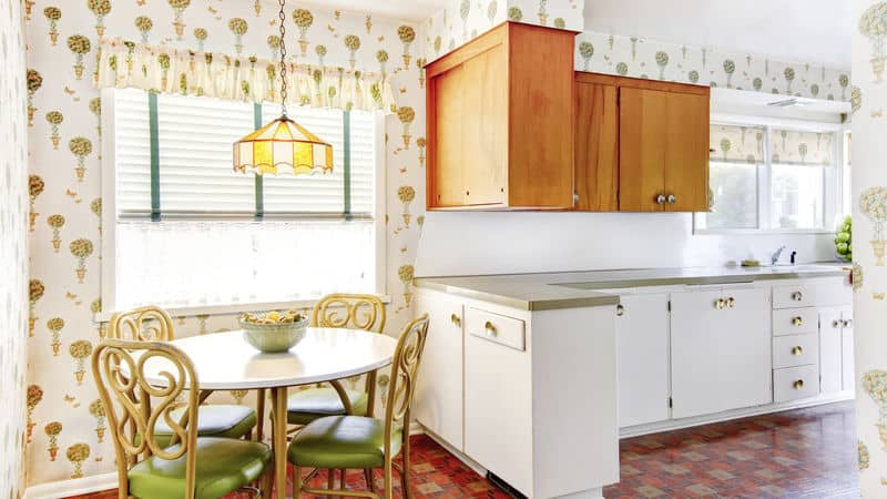 A kitchen that is small but well designed Image