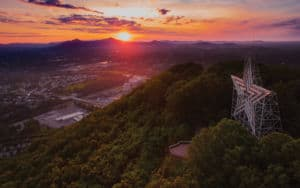 The Roanoke Star in Virginia's Blue Ridge Image