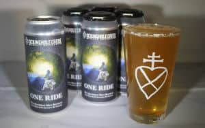One Ride non-alcoholic beer Lickinghole Creek Craft Brewery Image