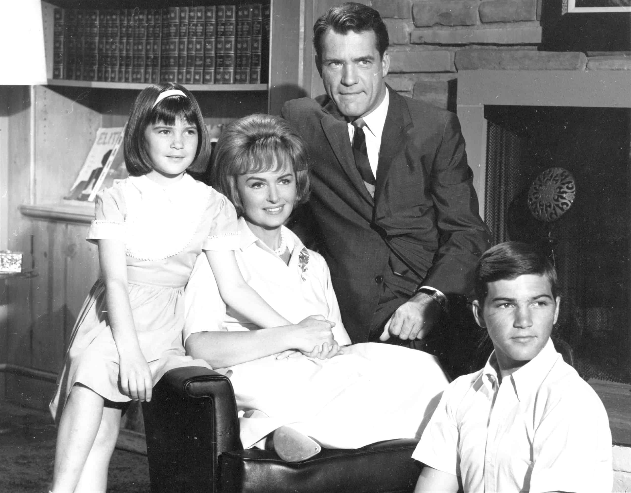 The Donna Reed Show family