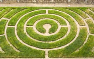 Labyrinth in Ginter Park Image