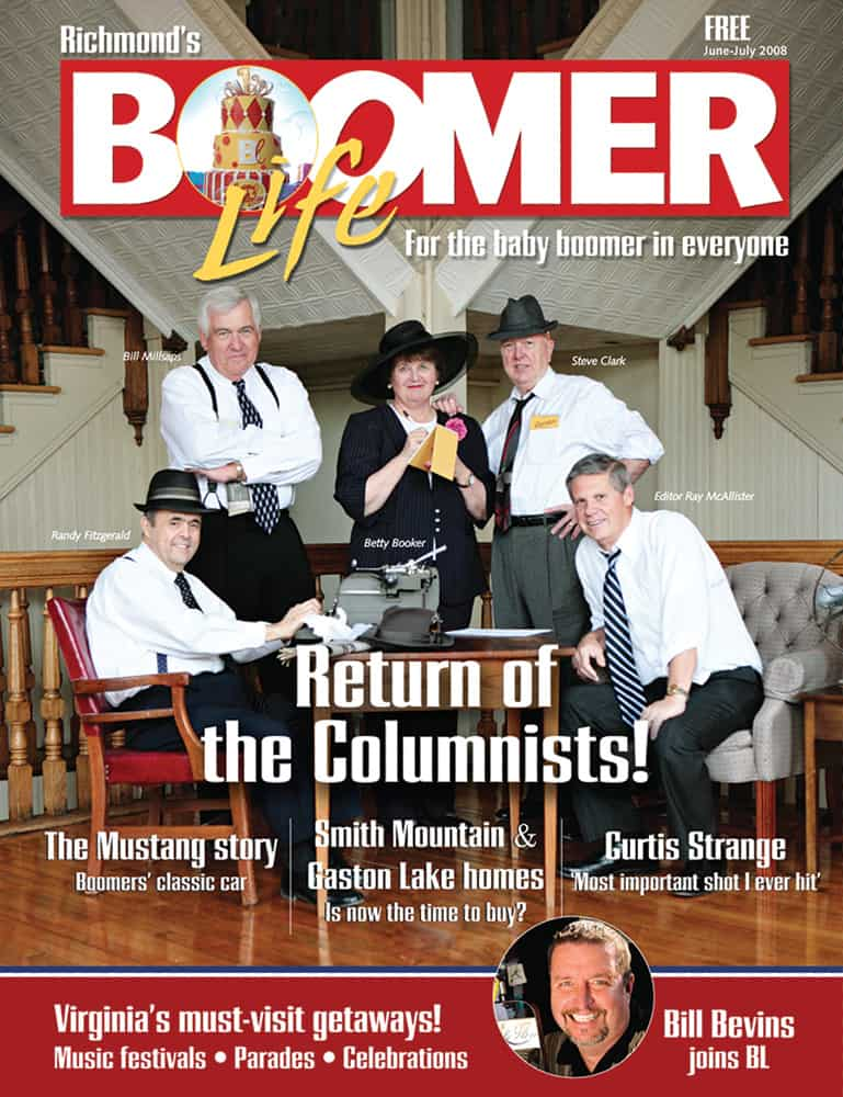 Bill Millsaps on the cover of BOOMER Life