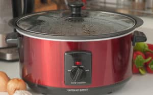 A slow cooker making something delicious I'm sure of it! Image