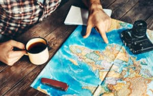 Man prefers travel plans over developing roots Image