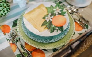 Juicy orange decor colors for summer trends Image