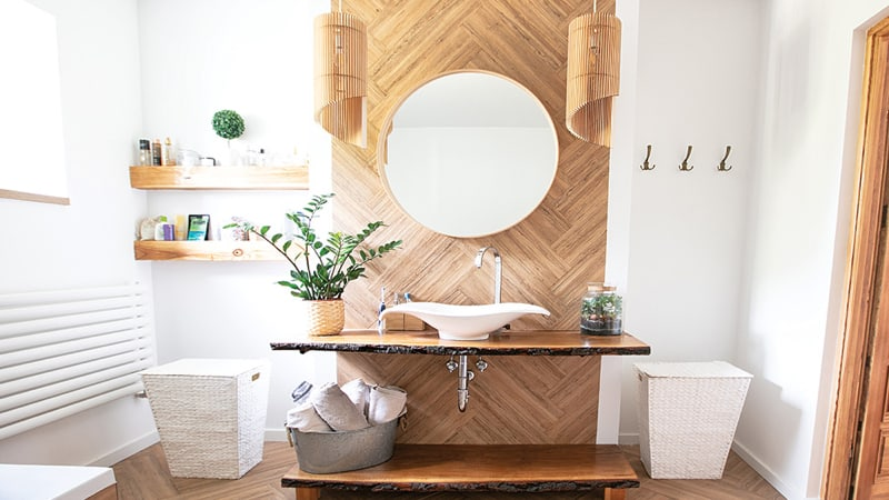 A bathroom that makes you want to be in it