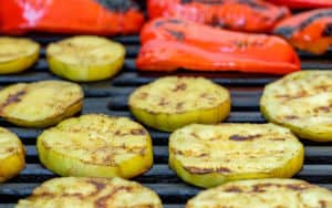 Grilled vegetable recipe Image