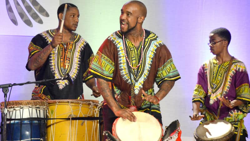 Drummers at Juneteenth Image