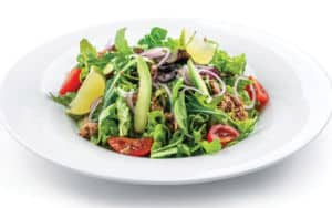 A delicious looking salad that will surely help manage your menopause symptoms Image