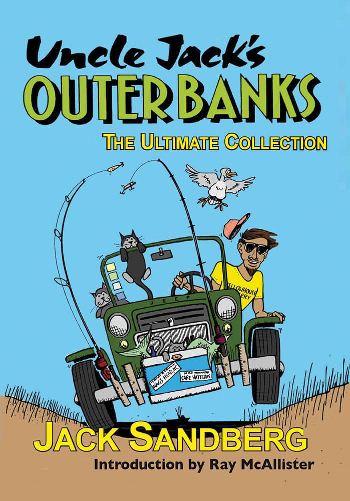 Uncle Jack's Outer Banks book cover by Jack Sandberg