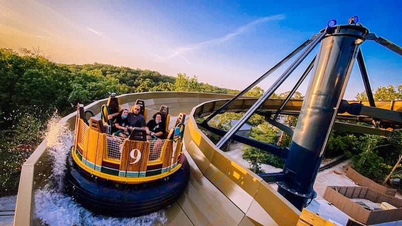 Mystic River Falls Image