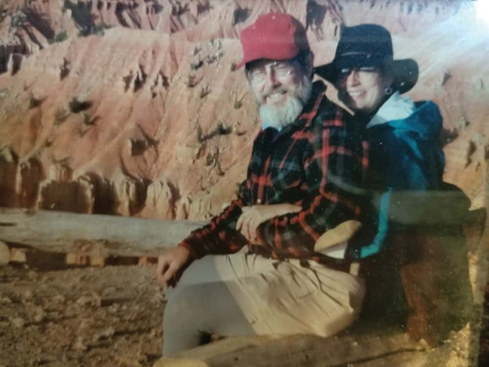 Ralph White and his wife, Cricket, at Cedar Breaks National Monument
