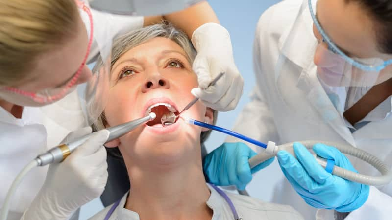 Woman with dental anxiety conquered her fears and went to the dentist anyway Image