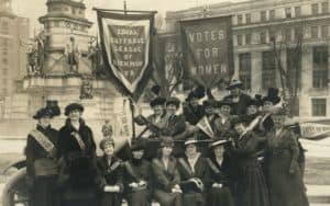 Equal Suffrage League of Virginia at Virginia State Capitol, 1915 Image