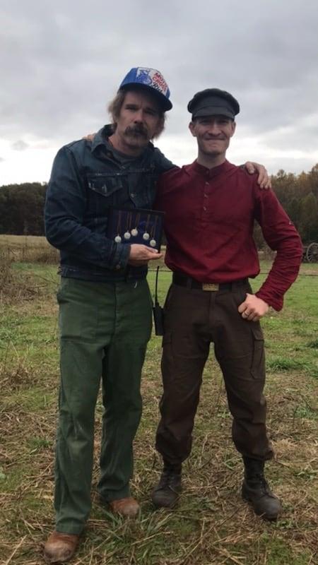 Ethan Hawke and Landon Graham